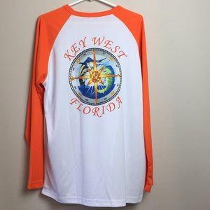 Key West Florida Long sleeve light weight shirt